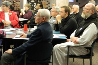 About 60 people attended the archdiocese's first Vocations Conference. Organizers hope laity become more involved in creating a 'culture of vocations.'