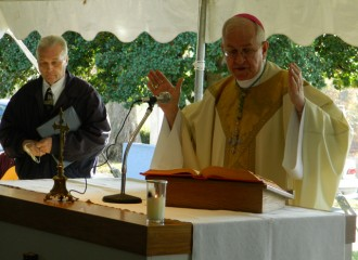 Archbishop Kurtz celebrated the All Souls' Day Mass at Calvary Cemetery.