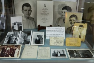 A collection of Archbishop Kelly's photos and letters.