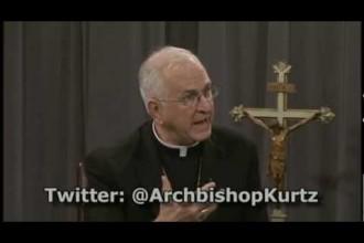 Archbishop Kurtz will participate in synod