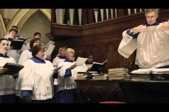 Cathedral Choir rehearsal video
