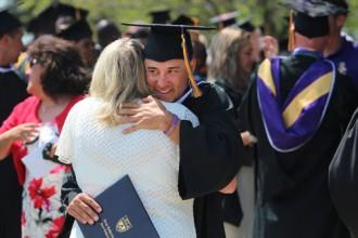 Among the graduates was Marc Mason, above, from Tehama, Calif.