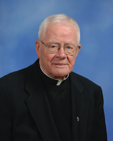 Father Roy E. Dentinger dies at 89
