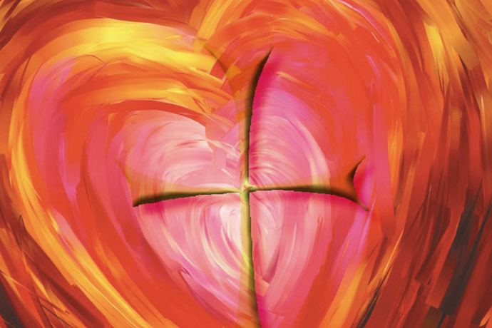 """The Archdiocese of Louisville's first Catholic Women's Conference is set for Nov. 7 at St. Patrick Church, 1000 N. Beckley Station Rd. The theme of the event is """"Setting Our Hearts on God."""" The logo is shown above. Image Special to The Record"""