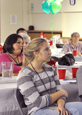 About 85 people attended the Parish Growth Conference at Our Mother of Sorrows Church Oct. 10. The conference was sponsored by the Pax Christi Collaborative — the parish cluster of Our Mother of Sorrows, St. Elizabeth of Hungary and St. Therese churches. (Record Photo by Jessica Able)