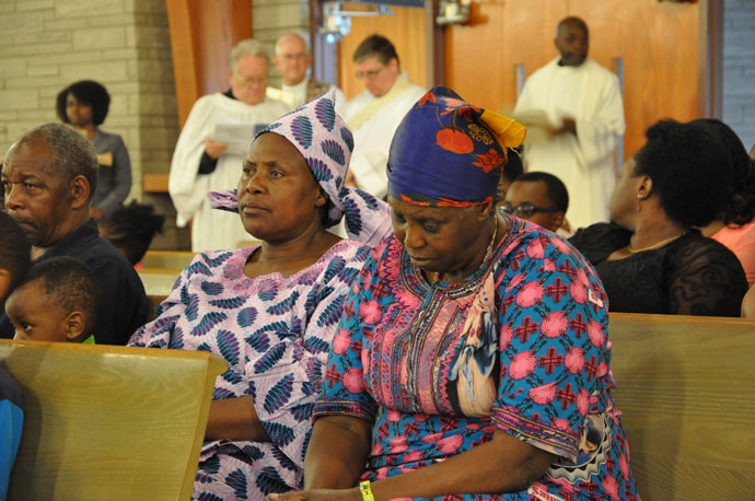 Memorial service remembers genocide victims