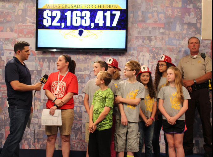 A record-setting Crusade for Children