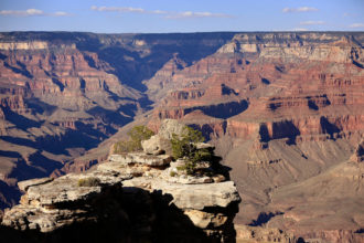 A view of Grand Canyon National Park in Arizona is seen from the south rim Sept. 12. (CNS photo/Nancy Wiechec)