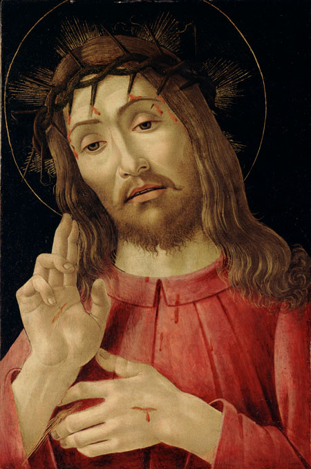 "The ""Risen Christ"" is depicted in a 15th-century painting by Sandro Botticelli. Easter is April 16 this year. (CNS/Bridgeman Images)"
