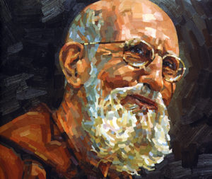 "The likeness of Solanus Casey is seen on the book cover of ""Thank God Ahead of Time: The Life and Spirituality of Solanus Casey."" Pope Francis advanced the sainthood causes of the Wisconsin-born Capuchin priest. (CNS)"