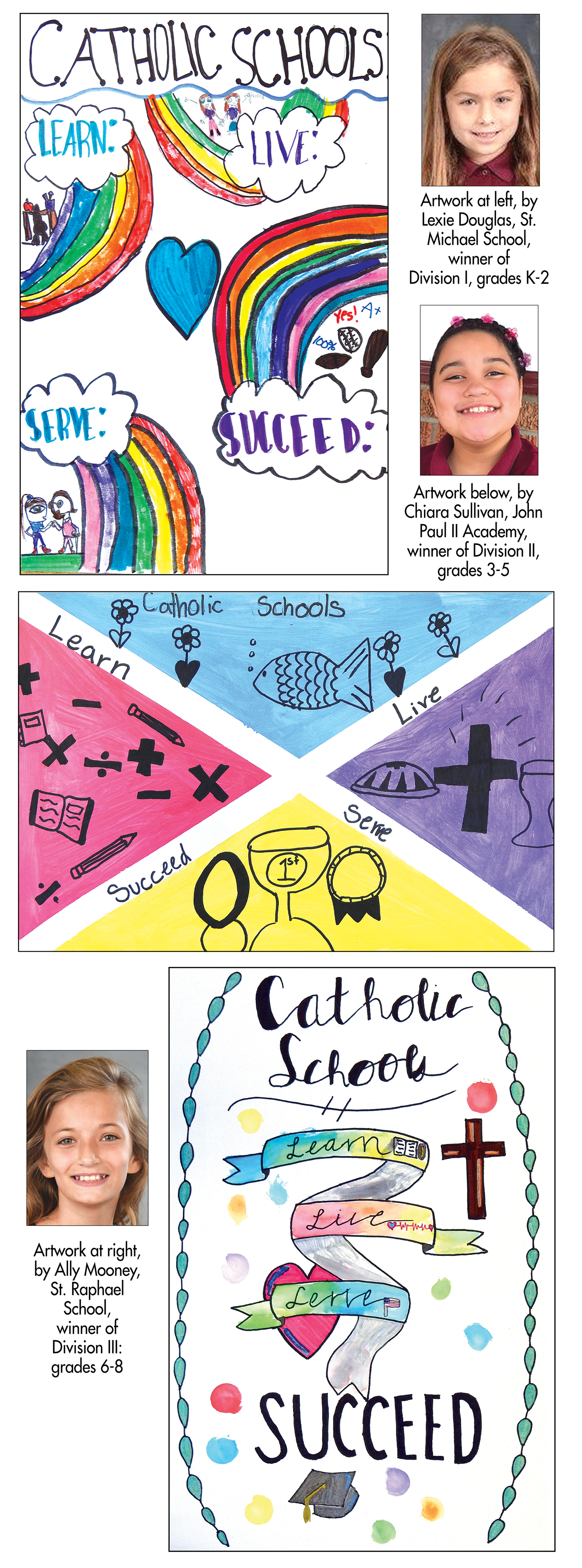 Catholic Schools Week – Winners of foundation's poster and essay contest are announced